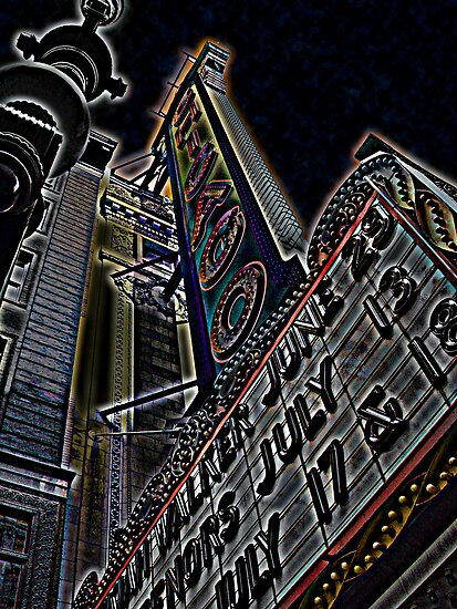 chicago theater by brian gregory
