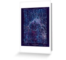 Massachusetts  USGS Historical Topo Map MA Fitchburg 351695 1946 31680 Inverted Greeting Card