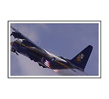 Blue Angels Fat Albert Photographic Print