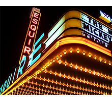 esquire theater, chicago Photographic Print