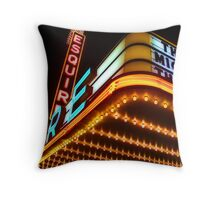 esquire theater, chicago Throw Pillow