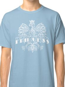 Cute Polish Princess White Eagle Classic T-Shirt
