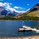 St. Mary Lake by Nancy Richard