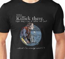 That Mumping Villain (White Text for Dark Tees) Unisex T-Shirt