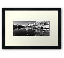 Serene Scene at Cradle Mountain Framed Print
