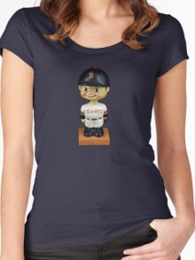 San Francisco Giants Bobblehead Women's Fitted Scoop T-Shirt