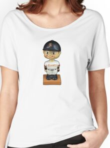 San Francisco Giants Bobblehead Women's Relaxed Fit T-Shirt
