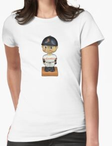 San Francisco Giants Bobblehead Womens Fitted T-Shirt