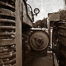 A old tractor: II by Rachel Counts