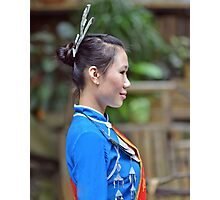 Traditional Chinese fashion Photographic Print