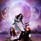 The Three Fates by Angelgold Art