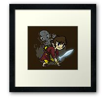 The Ring Bearer Framed Print
