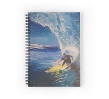 Left hand barrel Spiral Notebook