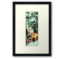 marshall field's chicago Framed Print