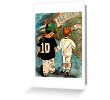 Toddlers- Sports Greeting Card