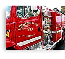 firetruck Canvas Print