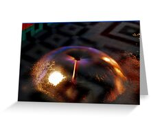 Water Dome Greeting Card