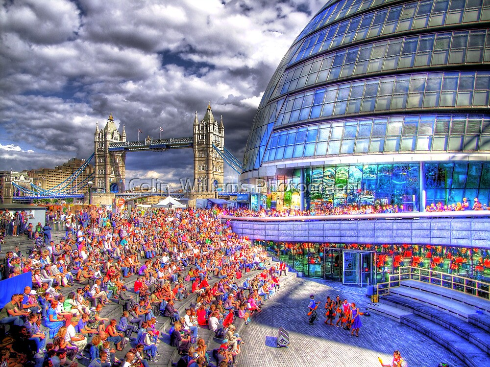 City Hall London - London Festival - HDR by Colin  Williams Photography