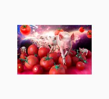 Pigs invasion in tomato Universe Unisex T-Shirt