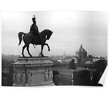 Rome, a view from high Poster