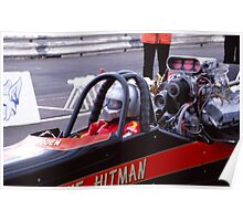 Top Fuel Dragster02 Poster