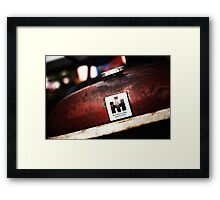 International Harvester: In the Rust  Framed Print