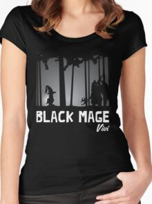 Black Mage - Vivi Women's Fitted Scoop T-Shirt