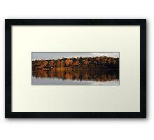 Tamar River Reflections - Blackwall, Tasmania Framed Print
