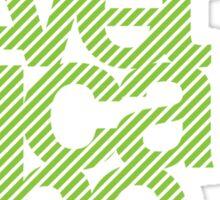 Helvetica Neue 2 Sticker