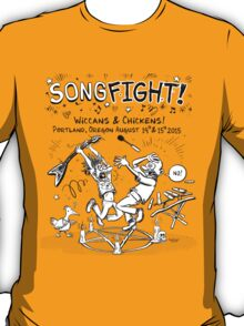 Songfight! Live!  Portland, OR T-Shirt
