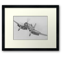 Missions End Framed Print