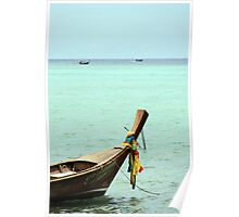 Long Boat Fore Hire Poster