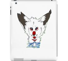zoe headshot iPad Case/Skin