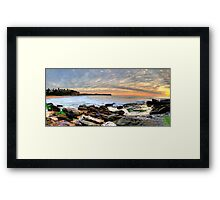 New World In The Morning - Warriewood Beach, Sydney - The HDR Experience Framed Print
