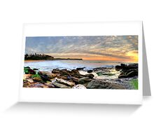 New World In The Morning - Warriewood Beach, Sydney - The HDR Experience Greeting Card