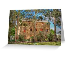 Albert Mill - Nairne, Adelaide Hills, South Australia Greeting Card