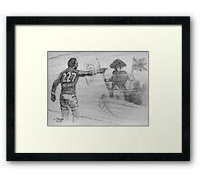 Adam Goodes and the history of Australia (2015) Framed Print