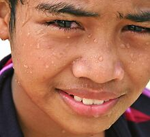 Tongan Lad by Randy Richards