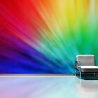 Color Explosion in a Lounge by Blaz Erzetic