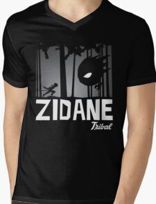 Zidane Tribal Mens V-Neck T-Shirt