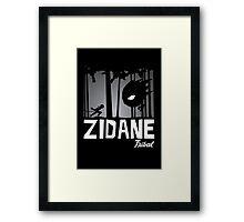 Zidane Tribal Framed Print