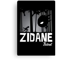 Zidane Tribal Canvas Print