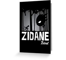 Zidane Tribal Greeting Card