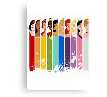 Disney Princesses Canvas Print
