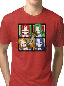 Castle Crashers Four-Square Tri-blend T-Shirt