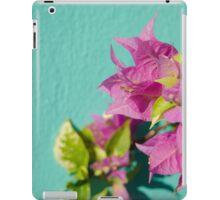 Pink flora iPad Case/Skin