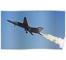 A fiery climb out  Poster