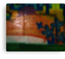 it's all just a blur Canvas Print