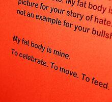 my fat body by scarlettheartt