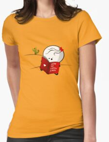 How to catch a boy Womens Fitted T-Shirt